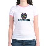 Fort Hood Game Warden Jr. Ringer T-Shirt