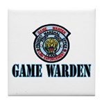 Fort Hood Game Warden Tile Coaster
