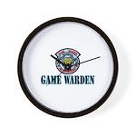 Fort Hood Game Warden Wall Clock