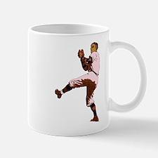 Old Time Baseball Pitcher Mug