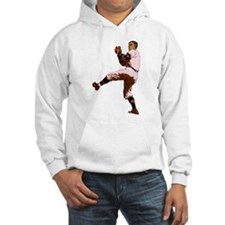 Old Time Baseball Pitcher Hoodie