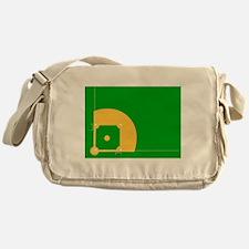Baseball Field Messenger Bag