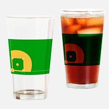 Baseball Field Drinking Glass