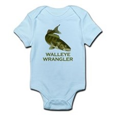 Walleye Wrangler Infant Bodysuit