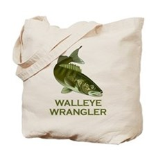 Walleye Wrangler Tote Bag