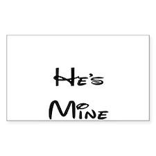 he's mine Decal