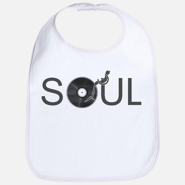 Soul Music Vinyl Bib