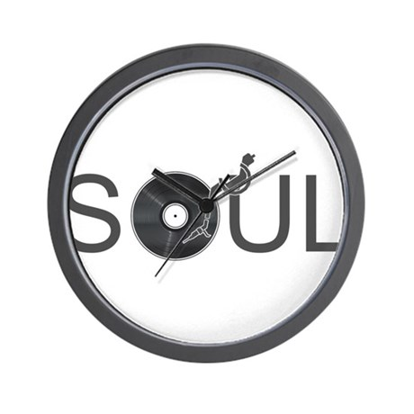 Soul Music Vinyl Wall Clock