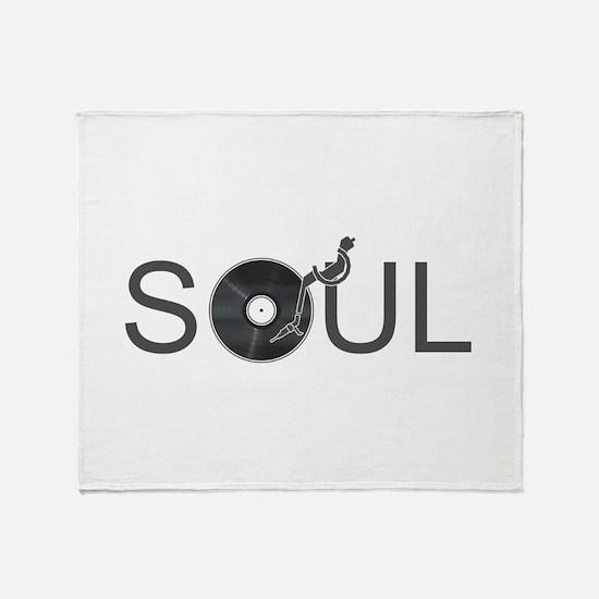 Soul Music Vinyl Throw Blanket