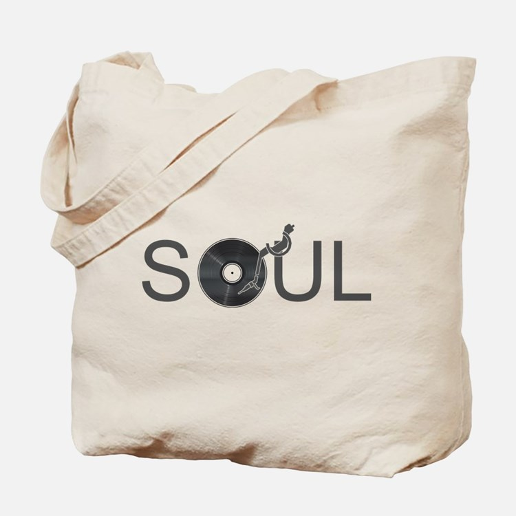 Soul Music Vinyl Tote Bag