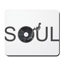 Soul Music Vinyl Mousepad