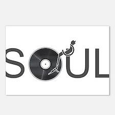 Soul Music Vinyl Postcards (Package of 8)
