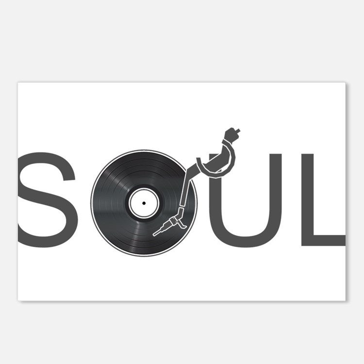 Soul Music Vinyl Postcards (Package of 8)