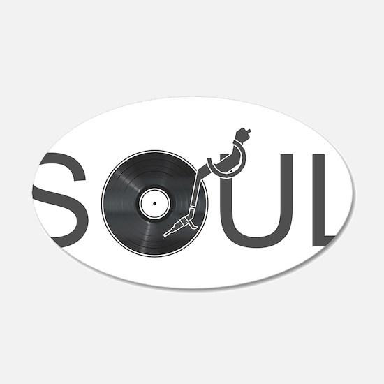Soul Music Vinyl Wall Decal