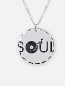 Soul Music Vinyl Necklace