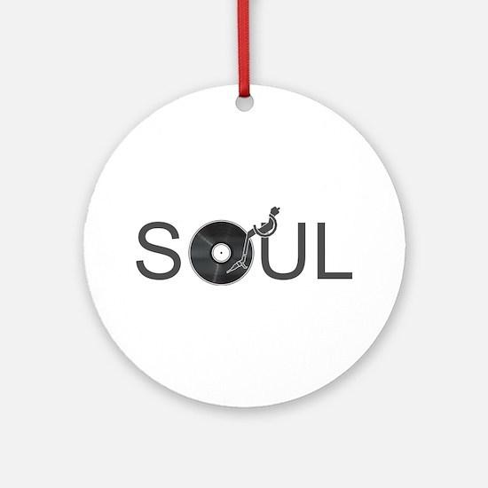 Soul Music Vinyl Ornament (Round)