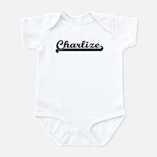 Black jersey: Charlize Infant Bodysuit
