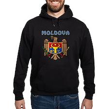 Moldova Coat of arms Hoodie