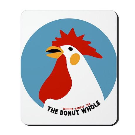 Donut Whole Mousepad