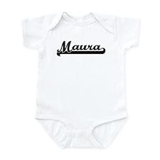 Black jersey: Maura Infant Bodysuit