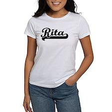 Black jersey: Rita Tee
