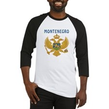 MONTENEGRO Coat of arms Baseball Jersey