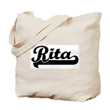 Black jersey: Rita Tote Bag