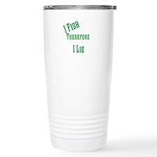 I fish i lie Travel Mug