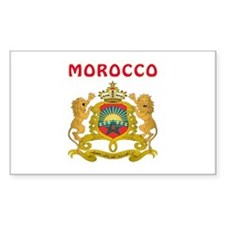 Morocco Coat of arms Decal