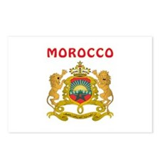 Morocco Coat of arms Postcards (Package of 8)