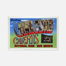 Carlsbad Caverns New Mexico Rectangle Magnet