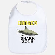 Danger Shark Zone Bib