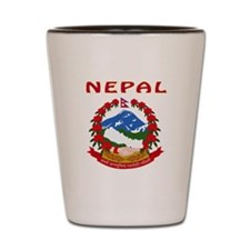 NEPAL Coat of arms Shot Glass