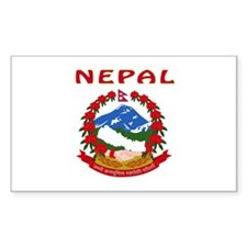 NEPAL Coat of arms Decal