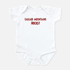 Cascade Mountains Rocks Infant Bodysuit