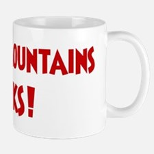 Cascade Mountains Rocks Mug
