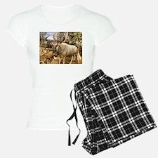 Wildebeest In The Wild Pajamas