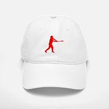 Red Baseball Batter Baseball Baseball Cap