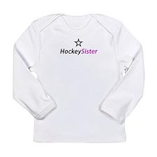 Hockey Sister Long Sleeve Infant T-Shirt