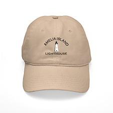 Amelia Island - Lighthouse Design. Baseball Cap