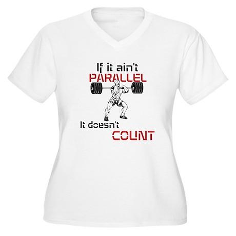 If it aint parallel it doesnt count Women's Plus S
