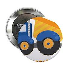 "Under Construction Blue Truck 2.25"" Button"