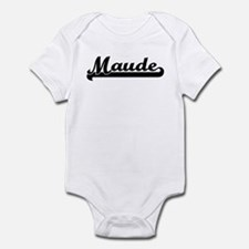 Black jersey: Maude Infant Bodysuit
