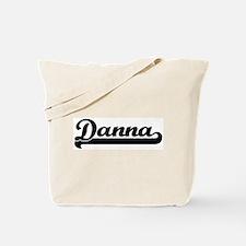 Black jersey: Danna Tote Bag