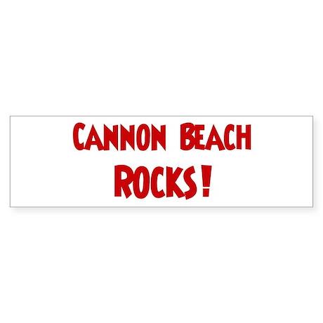 Cannon Beach Rocks Bumper Sticker