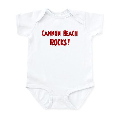 Cannon Beach Rocks Infant Bodysuit