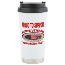 PROUD TO SUPPORT NATIVE VETERANS-WOUNDED WARRIOR C