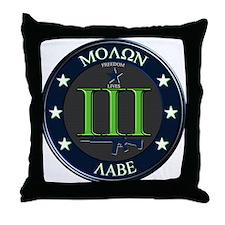 Molon Labe Throw Pillow
