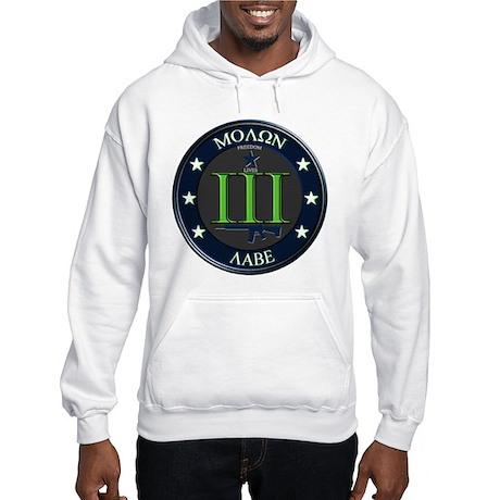 Molon Labe Hooded Sweatshirt