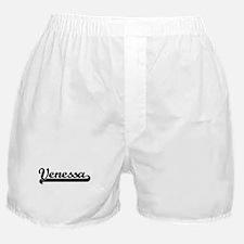 Black jersey: Venessa Boxer Shorts